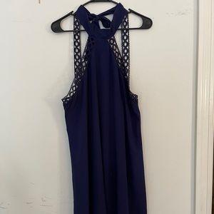 LULU - SIZE L - HALTER DRESS